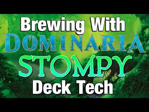 Mtg: Brewing with Dominaria: Mono-Green Stompy (Deck Tech)