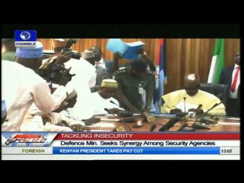 Defence Minister Seeks Synergy Among Security Agencies To Tackle Insecurity