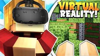 MINECRAFT VIRTUAL REALITY! (HTC VIVE)