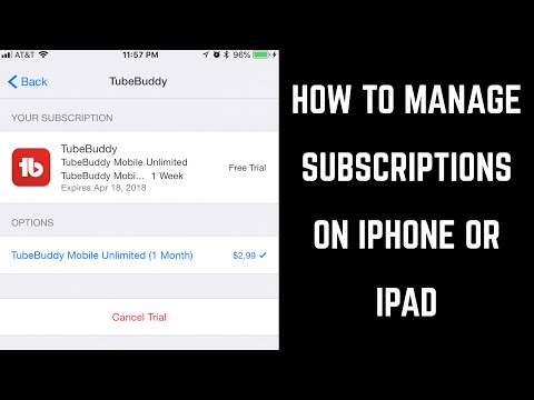How to Manage Subscriptions on iPhone or iPad