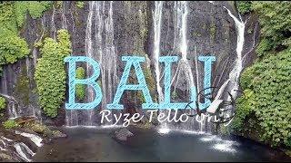 Bali - Ryze Dji Tello Footage Only 2018 - Drone Video
