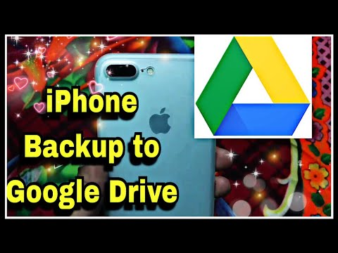 iPhone Auto Backup : Photo / Video / Data of your iPhone to Google Drive Free Space | How to