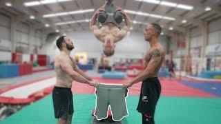 How Gymnasts Get Dressed?!😱