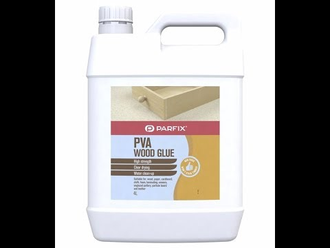 Mixing PVA glue as a pouring medium for less that $4/litre