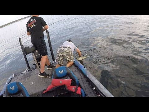 Fishing deep for Toledo Bend toads