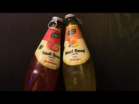 Basil Seed Drink REAL REVIEW part one