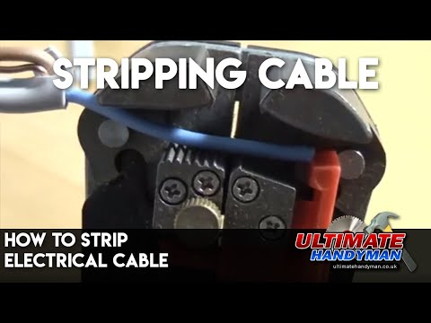 Ultimate Handyman DIY tips - how to strip electrical cable