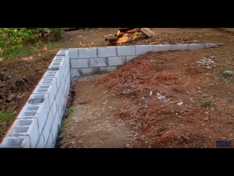 Constructing a Retaining Wall