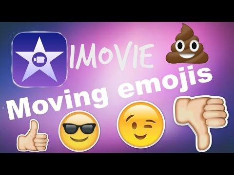 How to ANIMATE emojis using iMovie | JasminHuerta