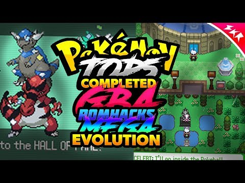 Top 5 Completed Pokemon GBA Rom Hacks With Mega Evolution (2018)