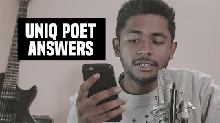 Laure ft. Uniq Poet Song ? + Uniq's Marriage ? (Q/A Session) #uniqanswers