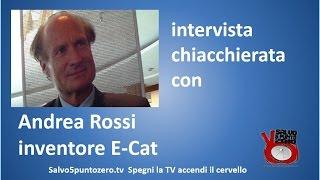 Intervista chiacchierata con Andrea Rossi inventore E-Cat. 12/12/2014