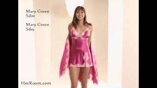 2009 Valentines - Mary Green Satin Chemise