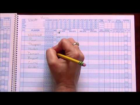 Basketball Scorebook 101