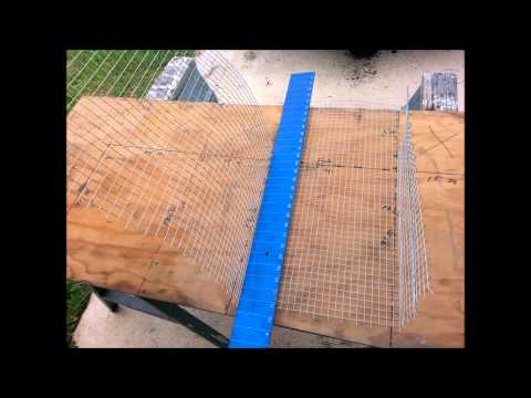 How to build a  small pigfish trap