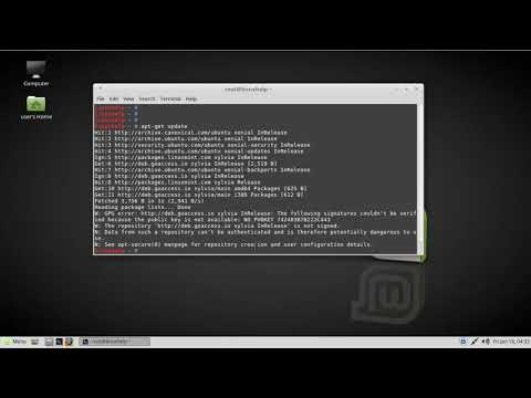 How to install GoAccess Apache Log Analyzer Tool on Linux Mint 18.3