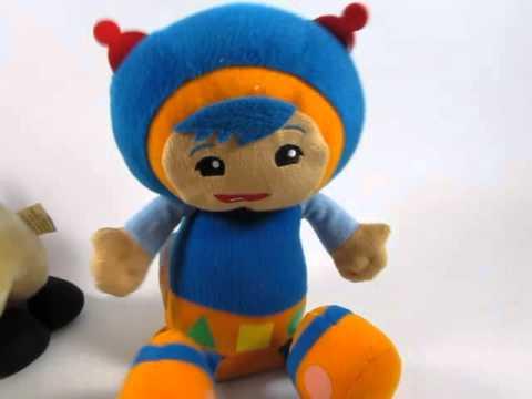 Umizoomi Crazy Shaking Dancing Pal - Geo Singing Plush Toy