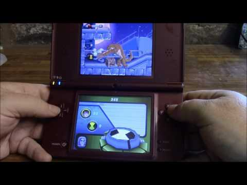 Hillovision Plays Nintendo DS: Ben 10 Alien Force and review