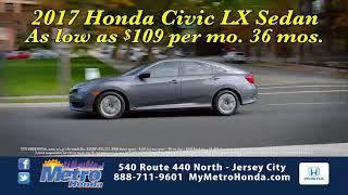 Metro Honda VIP Advantage Ci.