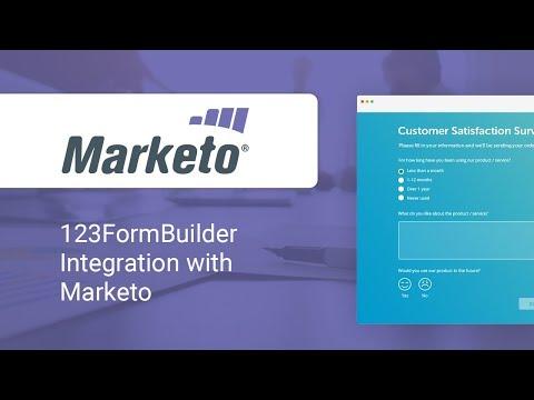 123FormBuilder - Marketo Integration Video Tutorial