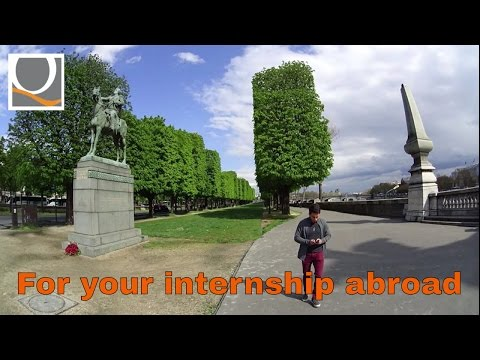 Want to do an internship abroad? Watch this video!