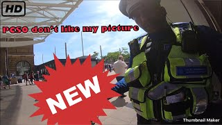 Police stop PCSO don't like my picture