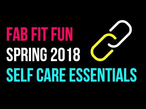 FabFitFun Subscription Box Spring 2018! Coding + Self Care!