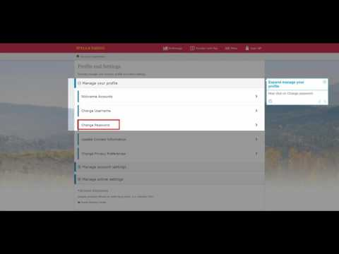 How to change password of WellsFargo bank account @wellsfargo