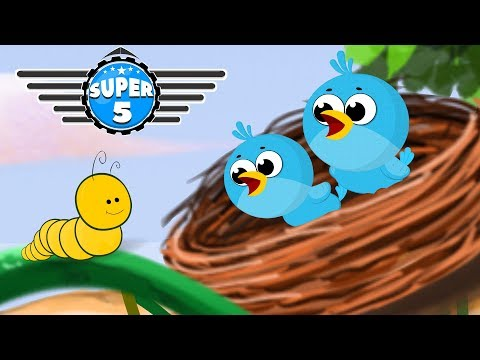 Special Super5 Squad Rescue Team with Police Car & Fire truck on a Mission | Kids Car Cartoon