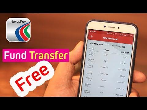 nexus pay Fund transfer A to Z । Dbb