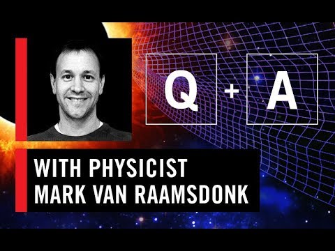WS CONNECT Q & A with Mark Van Raamsdonk