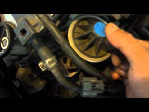 EGR valve cleaning or Replacements Honda Accord 2000 ex V6