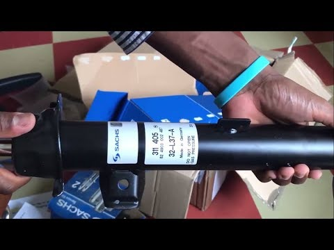 Unboxing SACHS Shocks BMW | how to get the most affordable OEM  quality shocks and dampers