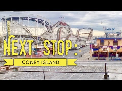 Next Stop: Coney Island Brooklyn New York City F Train by HourPhilippines.com