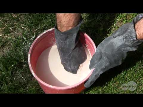 How to Mix Plaster for Casting Bigfoot Tracks or Footprints of other Mysterious Creatures