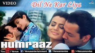 Dil Ne Kar Liya Aitbaar Full Video Song | Humraaz | Bobby Deol, Amisha Patel | Udit Narayan, Alka