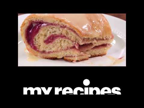 How to Make Raspberry and Cream Cheese Danish Roll | MyRecipes