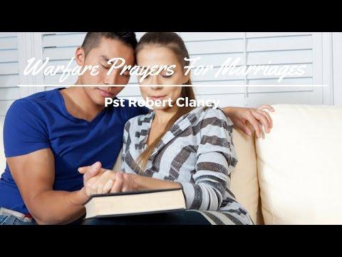 SPIRITUAL WARFARE PRAYERS FOR MARRIAGES