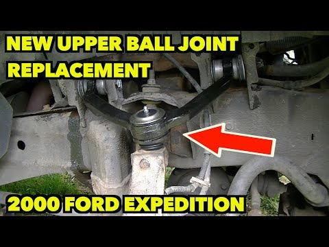 Upper Ball Joints.YOU CAN DO IT!!  Step by Step...How to replace them on a 1997-2003 Expedition.