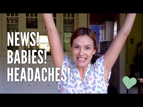 Yoga for Headaches! Babies! Other News!