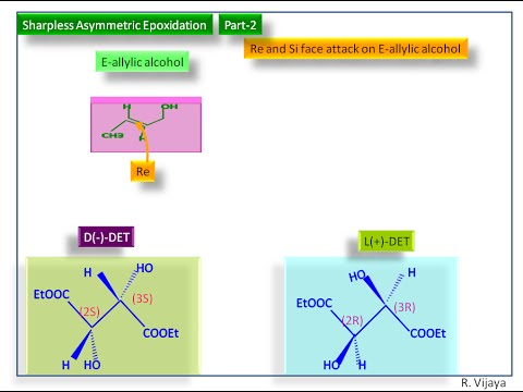 Sharpless Epoxidation-Part-2-Re and Si face attack