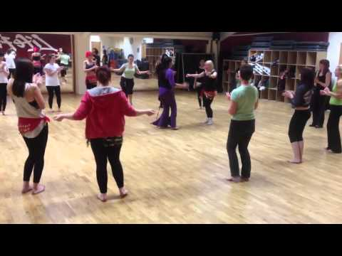 Belly Dance Class at Claire's Pole Fitness
