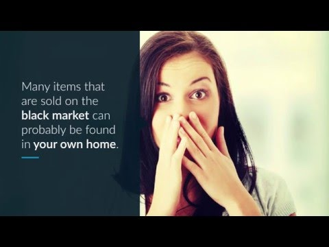 5 Surprising Items You Can Buy On The Black Market