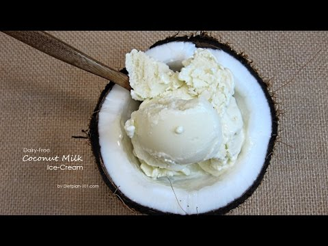 Dairy-Free Coconut Milk Ice-Cream | Dietplan-101.com