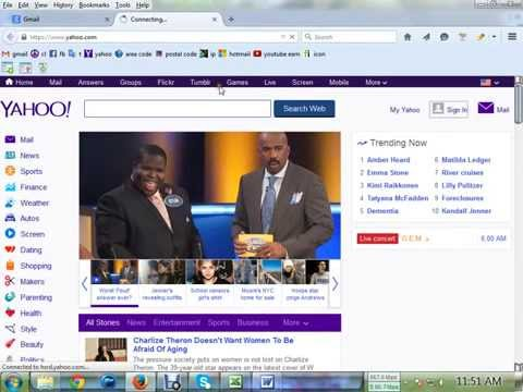 How to forward yahoo mail with other mail