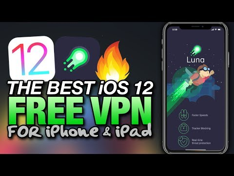 The BEST FREE VPN APP For iOS 12 - LUNA Virtual Private Network For iPhone & iPad