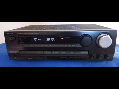 Kenwood KR-V6070 Stereo Home Theater 5.1 Receiver__sn-50945542