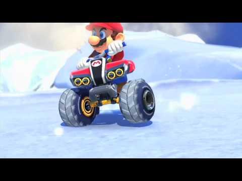 Mario Kart 8 Trailer + Friendlist ~1080p ~ Quality Test