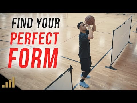How to: FIND YOUR PERFECT SHOOTING FORM AT HOME!!! Drills to Quickly Improve Your Jump Shot AT HOME!
