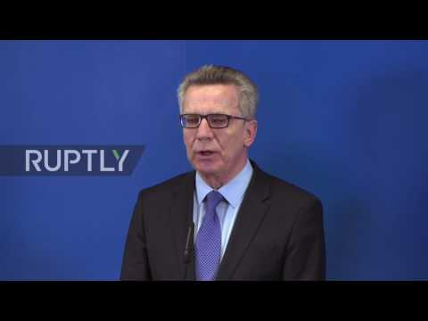Germany: De Maiziere opens 'Centre for the Support of Return' to hasten deportations